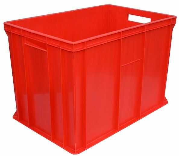 Pojemnik transportowy EURO 410 (Kolor czerwony)