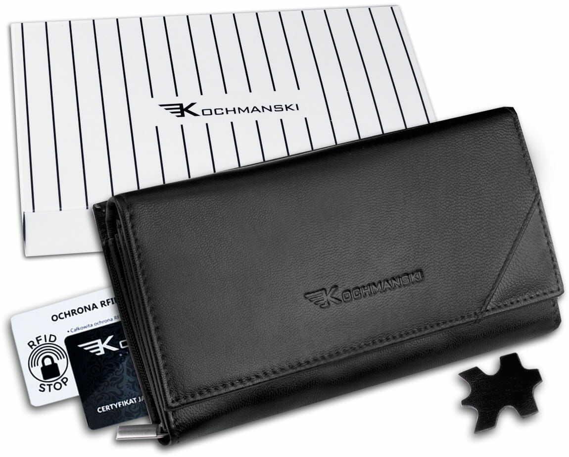 KOCHMANSKI portfel damski skórzany RFID 4326