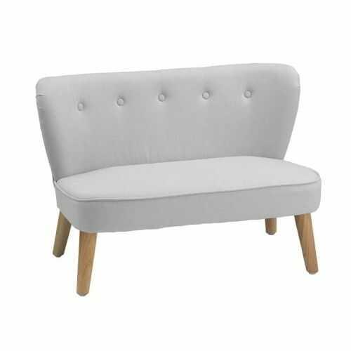 Sofa dziecięca szara Kids Concept