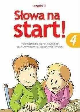 Słowa na start klasa 4 część 2 - podręcznik
