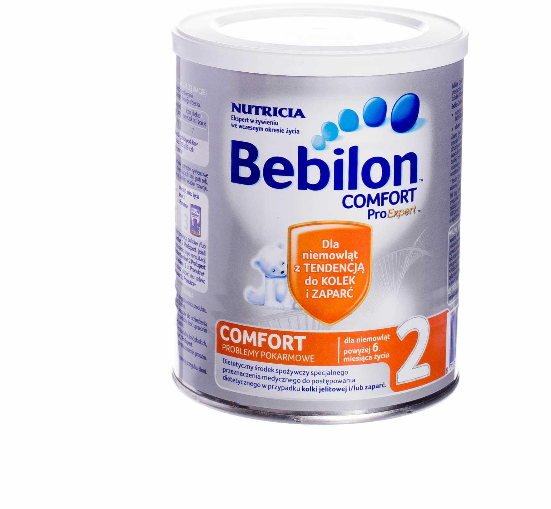 Bebilon Comfort 2 mleko modyfikowane dla niemowląt od 6 miesiąca 400 g