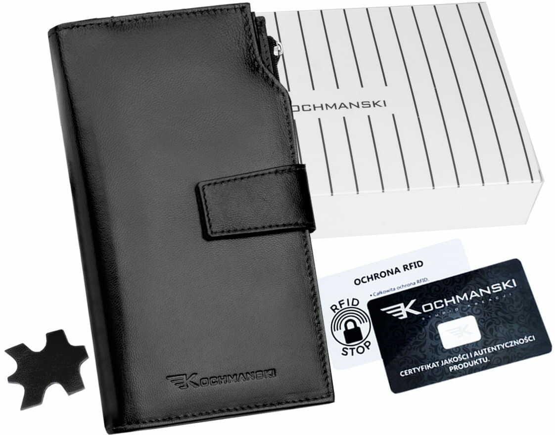 KOCHMANSKI portfel damski skórzany XXL 4327