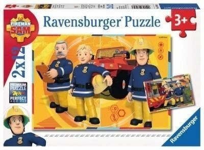 Puzzle 2x12 Strażak Sam