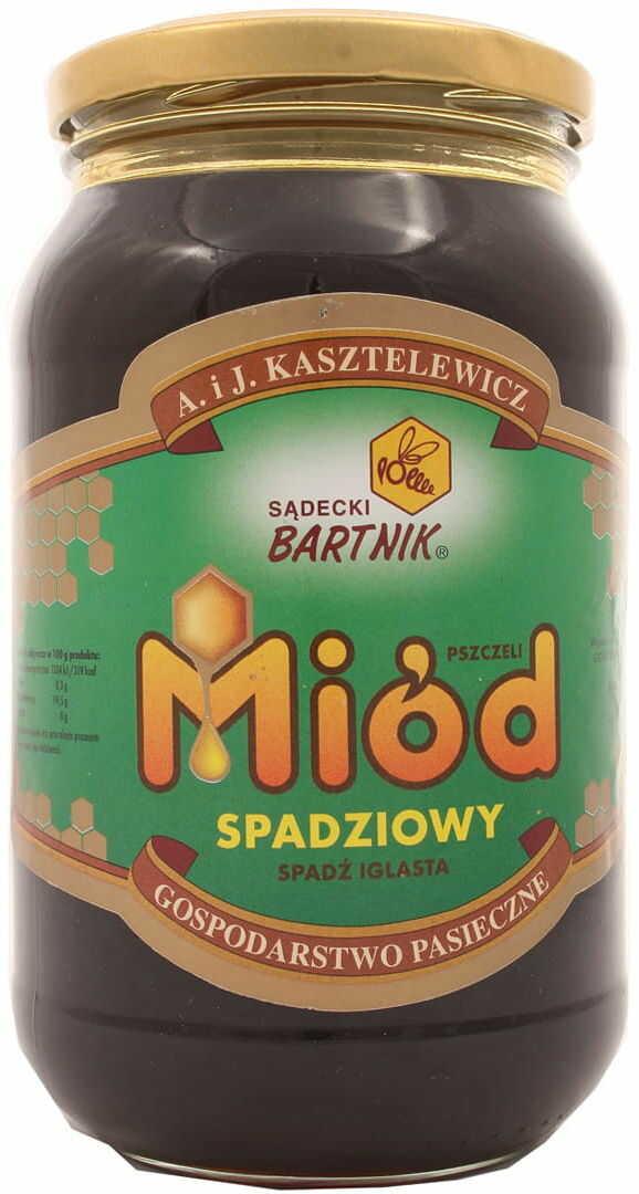 Miód spadziowy - Bartnik - 1200 g