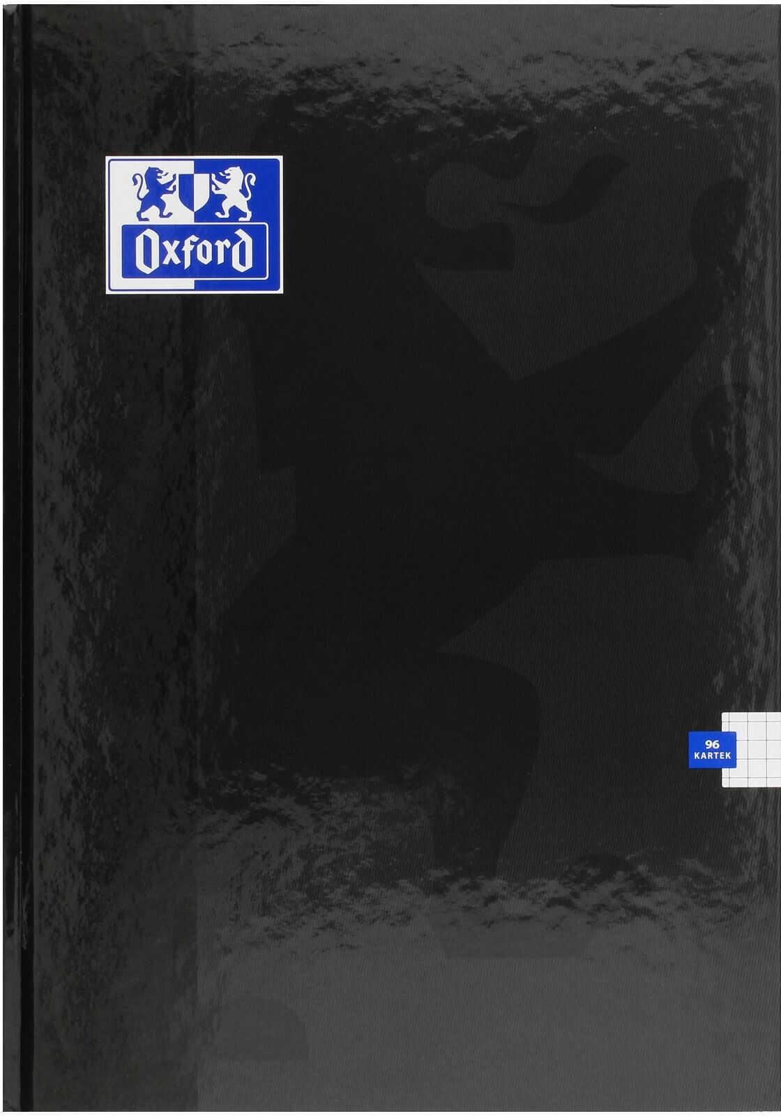 Brulion A4/96 kratka Esse Oxford czarny 400136903