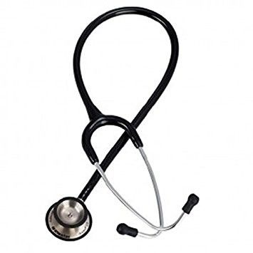 Riester Duplex 2.0 z głowicą ze stali nierdzewnej-czarny Stetoskop o dwustronnej głowicy posiadający doskonałe parametry odsłuchowe