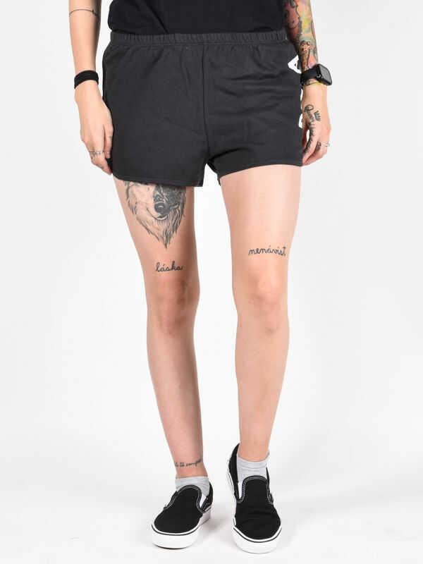 Billabong LEGACY black damskie spodenki jeansowe - S