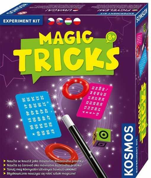 Zestaw Eksperymentalny - Sztuczki Magiczne