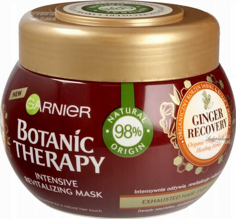 GARNIER - BOTANIC THERAPY MASK - Intensywnie rewitalizująca maska do włosów cienkich i zmęczonych - Regenerujący Imbir - 300 ml