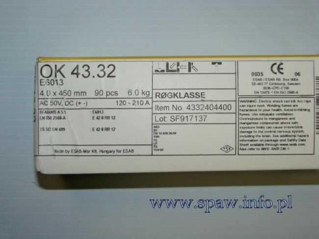 OK.43.32 / 4.0mm
