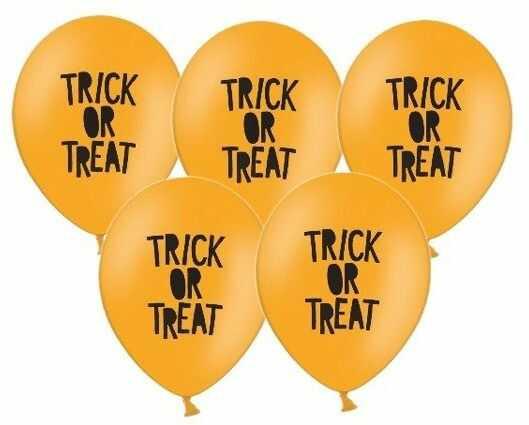 Balony Trick or Treat 30cm 5 sztuk SB14P-290-005-5x