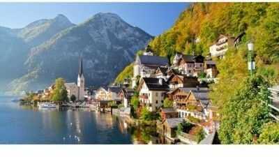 Puzzle Castor 500 - Hallstatt, Austria