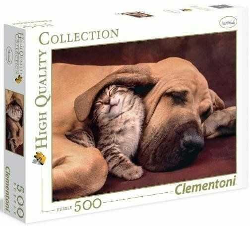 Puzzle 500 HQ Cuddles - Clementoni