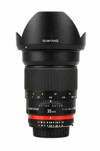 Samyang 35mm F1.4 ED AS UMC Canon