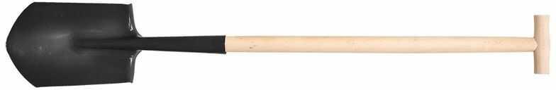 Szpadel ostry drewniany trzonek 15G001