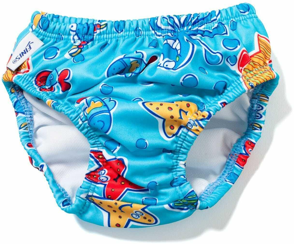 FINIS Dzieci Swim Diaper Nappy Octopus, niebieski, XL