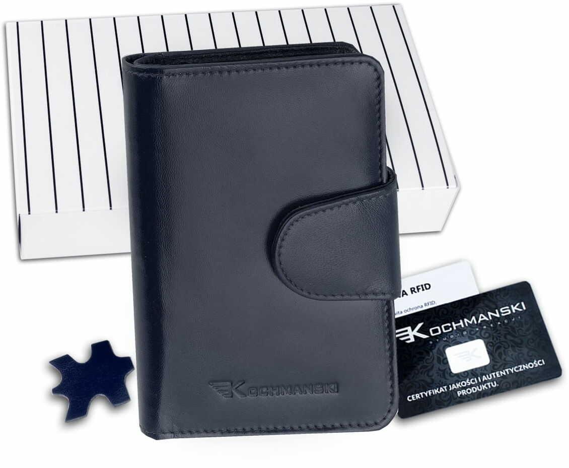 KOCHMANSKI portfel damski skórzany mały 4342