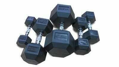 Hantla ogumowana HEX 2,5 kg - Marbo Sport