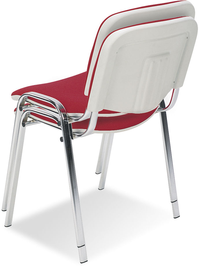 NOWY STYL Krzesło ISO BIANCO chrome