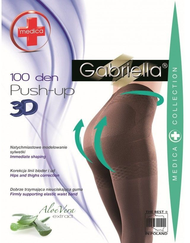 Medica push up 100 den gabriella rajstopy