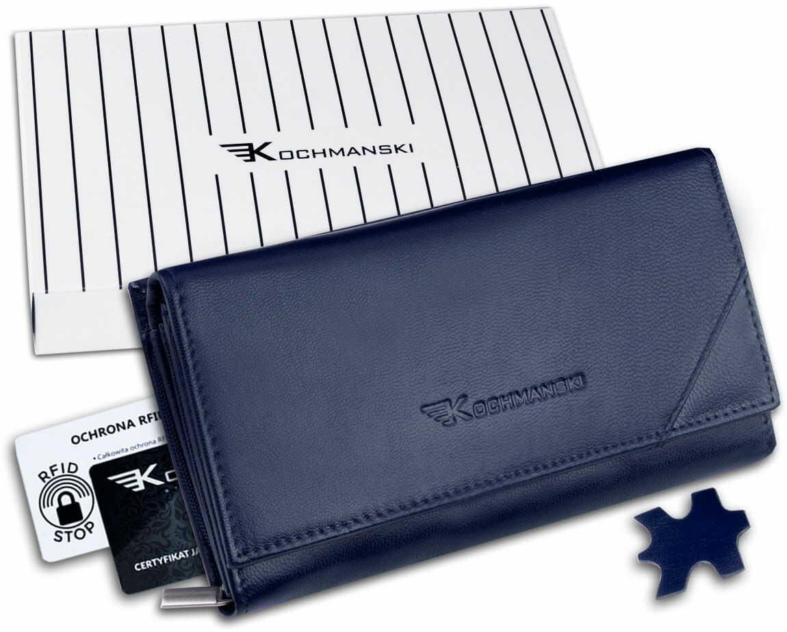KOCHMANSKI portfel damski skórzany RFID 4346