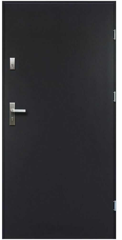 Drzwi wejściowe ARTEMIDA Antracyt 80 Prawe
