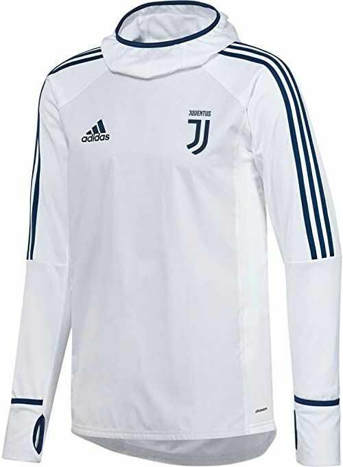 adidas Męska bluza Juventus Warm Top Juventus niebieski Easmin l