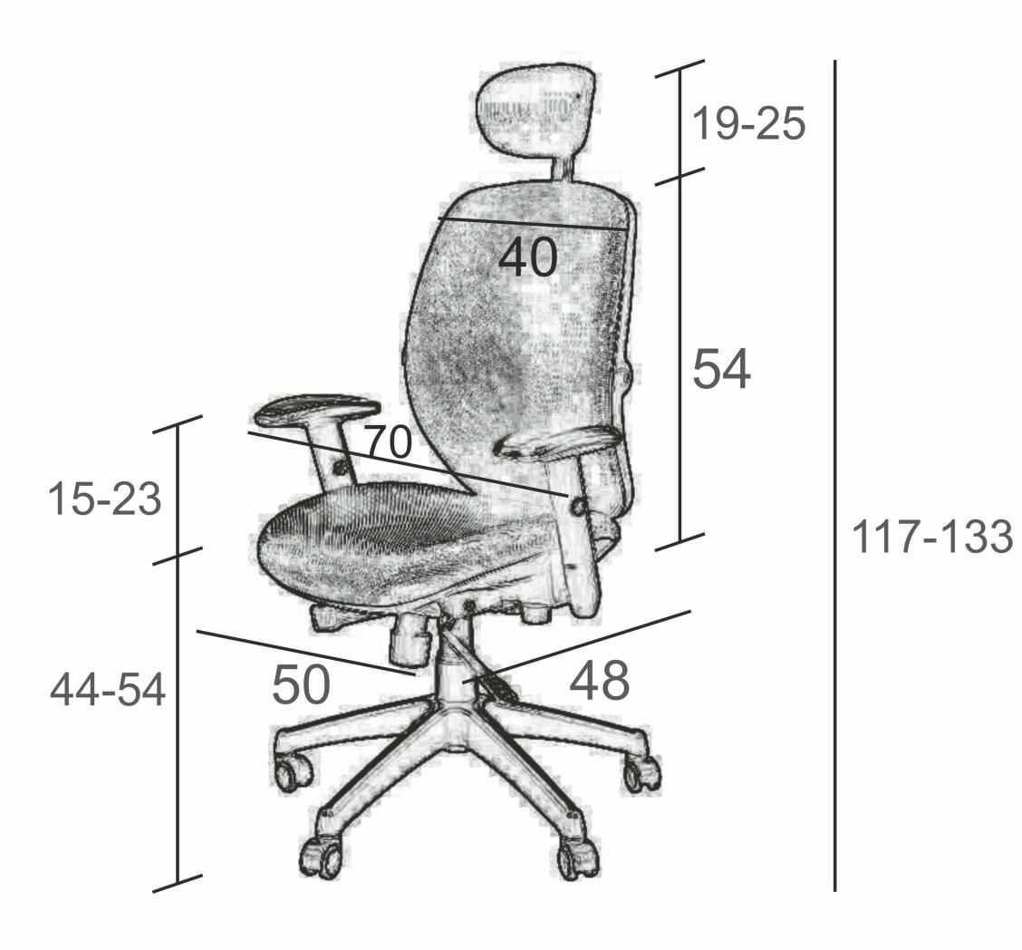 SIT PLUS Fotel biurowy SPECTRUM HB