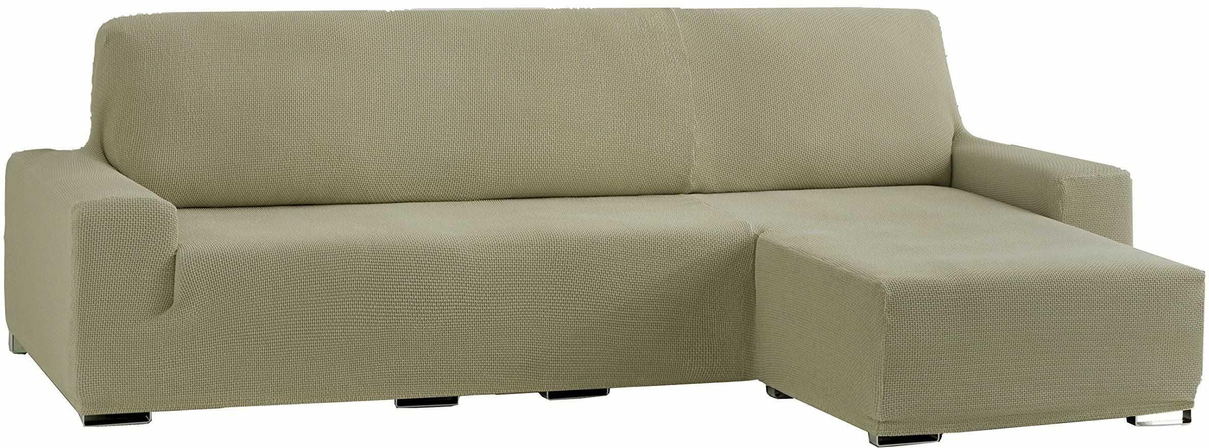 Eysa Cora Bi-elastyczny szezlong, krótkie ramię, z prawej strony, poliester, bawełna, len, 39 x 35 x 19 cm