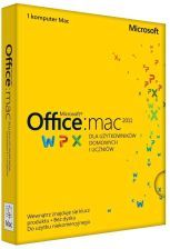 MS Office 2011 dla Mac dla Użyt. Domowych i Uczn PL PKC Lic. Doż. PUDEŁKO (GZA-00289) DOSTAWA 24H