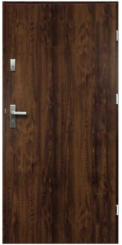 Drzwi wejściowe ARTEMIDA Orzech 80 Prawe