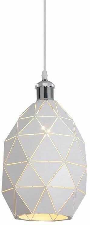 Lumina Deco Pestico nowoczesna biało-mosiężna lampa wisząca