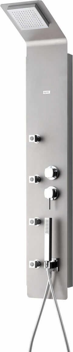 Cube 230 Aquatec panel natryskowy z termostatem inox Darmowa dostawa