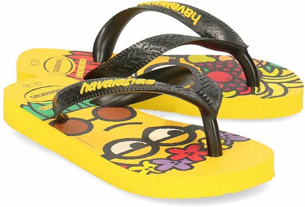 Havaianas Minions - Japonki Dziecięce - 4133167 7186 - Żółty