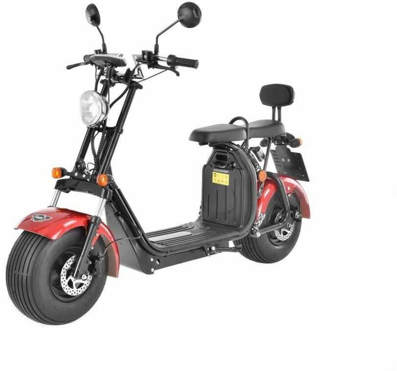 HECHT COCIS RED SKUTER E-SKUTER MOTOR ELEKTRYCZNY AKUMULATOROWY MOTOCROSS MOTOREK MOTOCYKL - OFICJALNY DYSTRYBUTOR - AUTORYZOWANY DEALER HECHT
