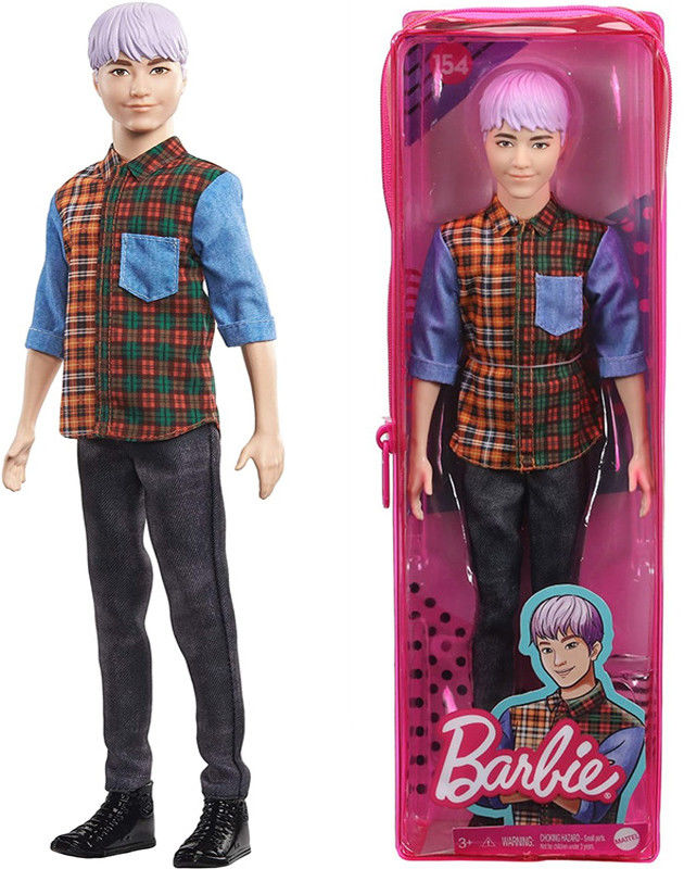 Barbie Fashionistas - Modny Ken 154 GYB05