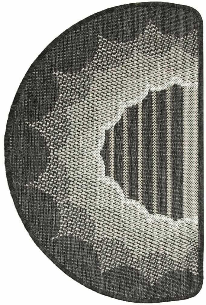 Dywanik dekoracyjny Rasta ciemnobrązowy 50 x 80 cm
