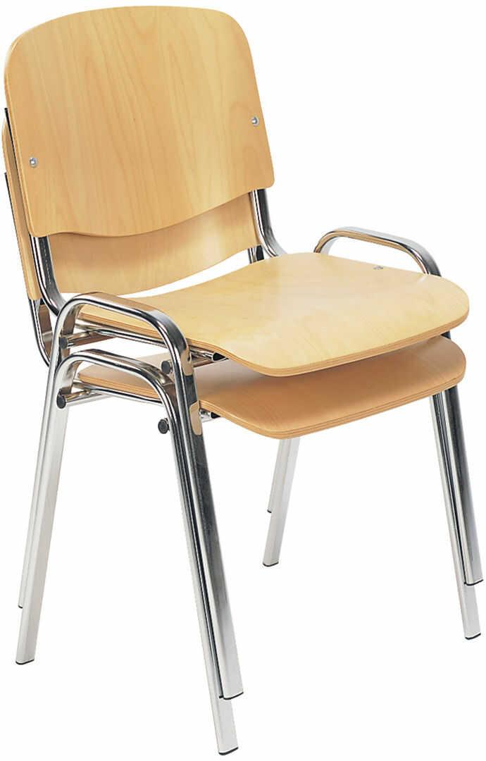 NOWY STYL Krzesło ISO wood black