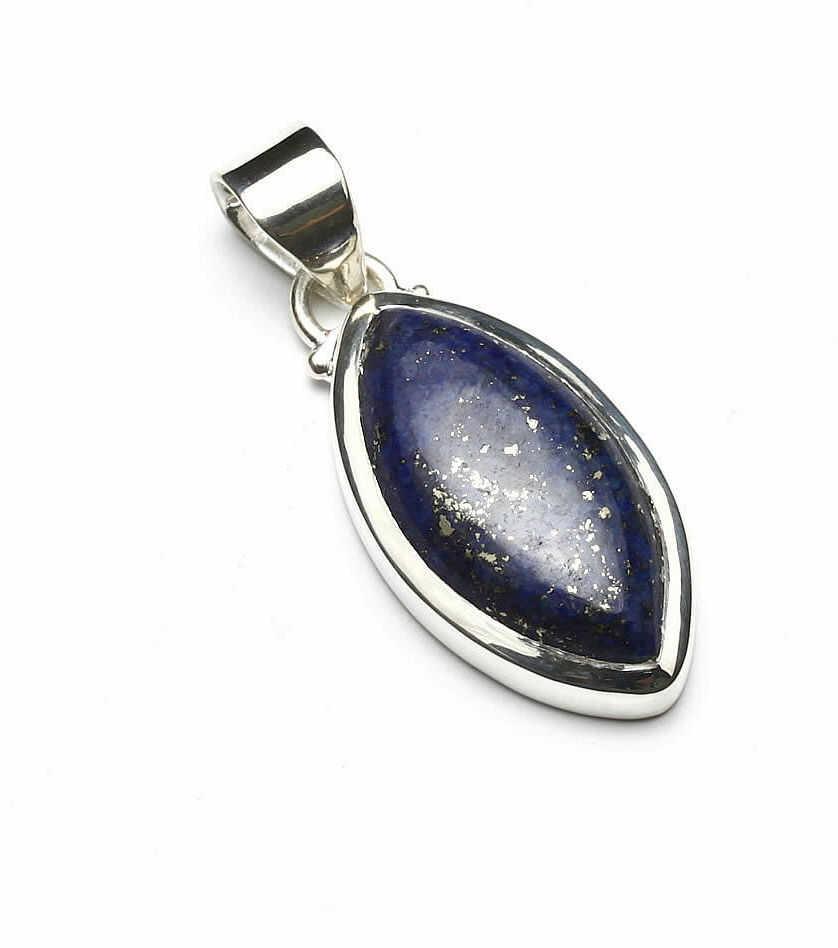 Kuźnia Srebra - Zawieszka srebrna, 36mm, Lapis Lazuli, 6g, model