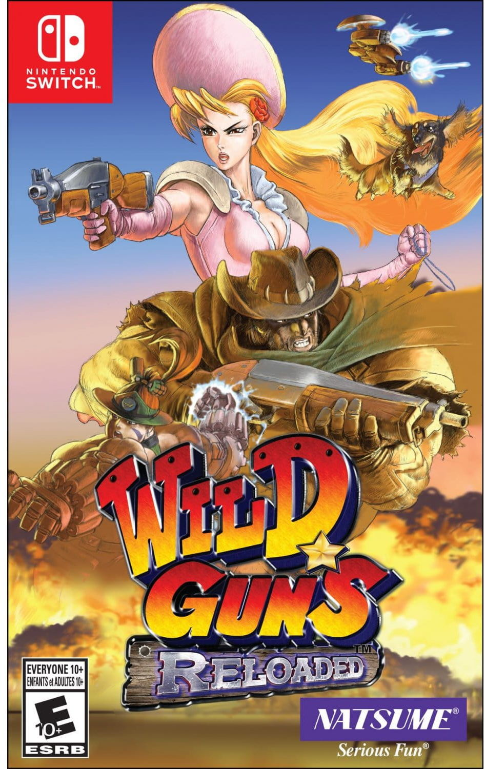 Gra Wild Guns Reloaded (Nintendo Switch)