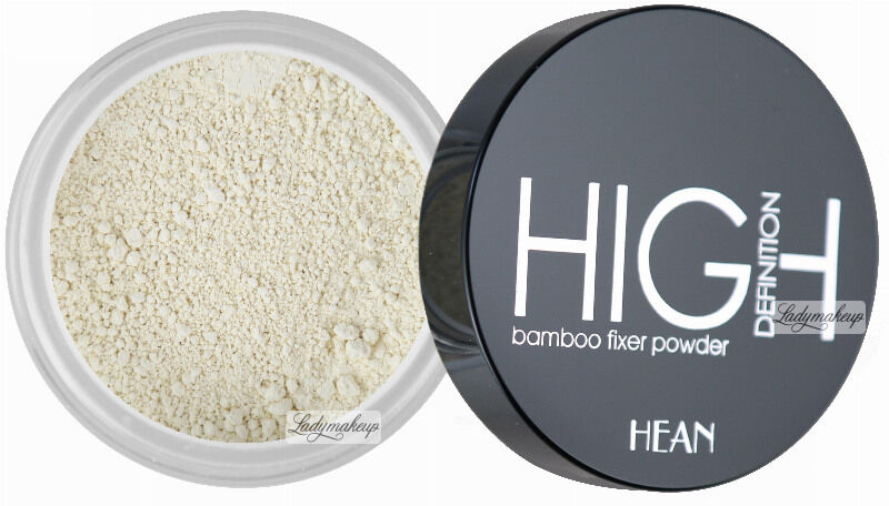 HEAN - HIGH Definition bamboo fixer powder - Mineralny puder bambusowy-500 - TRANSLUCENT