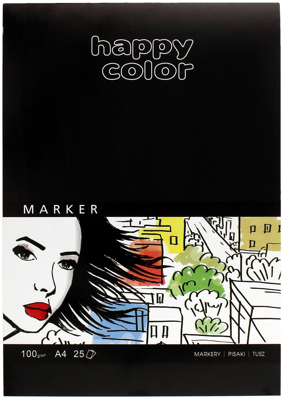 Blok do markerów A4/25 100g Happy Color