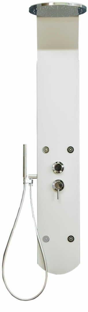 Vivo Round Aquatec panel natryskowy bez termostatu firmy Darmowa dostawa
