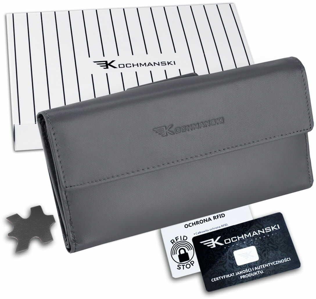 KOCHMANSKI portfel damski skórzany XXL 4363