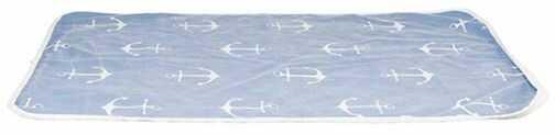 Trixie Koc Anchor 150x100cm - niebiesko/biały