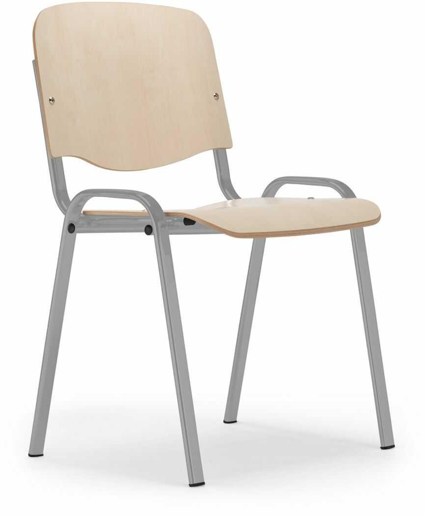 NOWY STYL Krzesło ISO wood alu