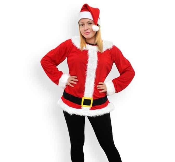 Kostium Modny Mikołaj