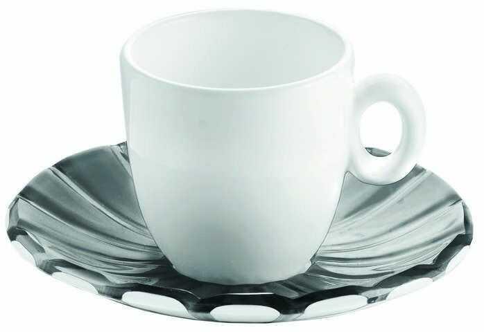 Guzzini - grace - kpl. 2 filiżanek espresso,czarne