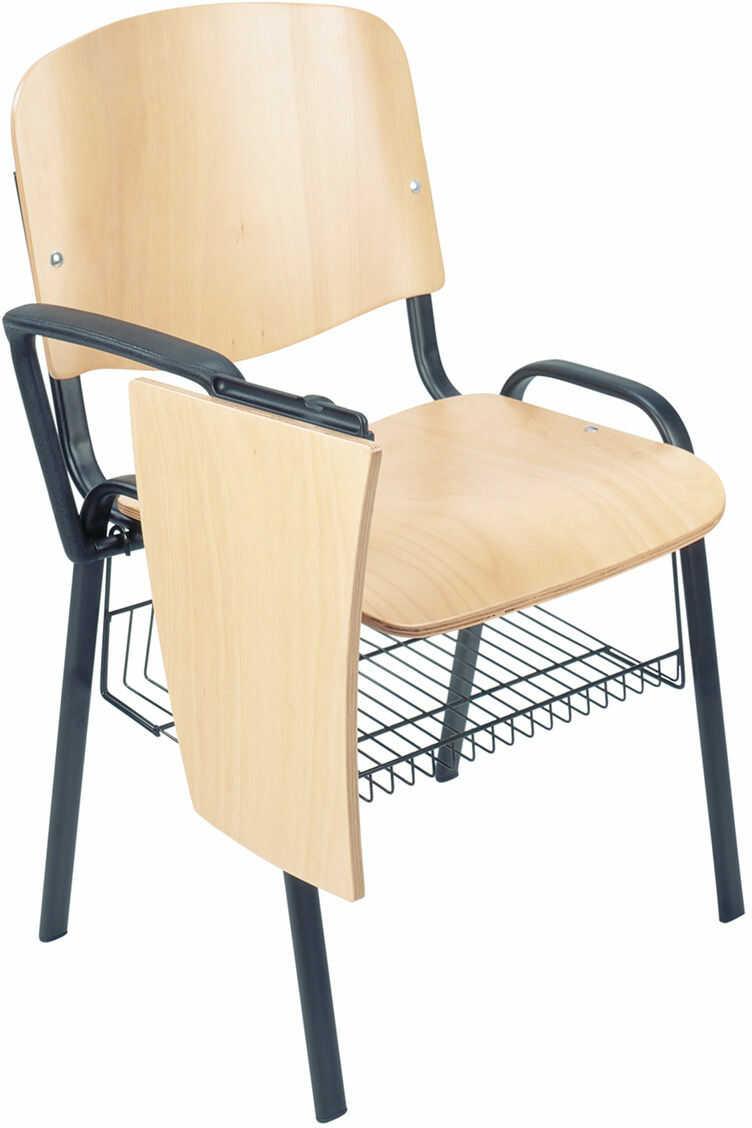 NOWY STYL Krzesło ISO wood TR-xx black