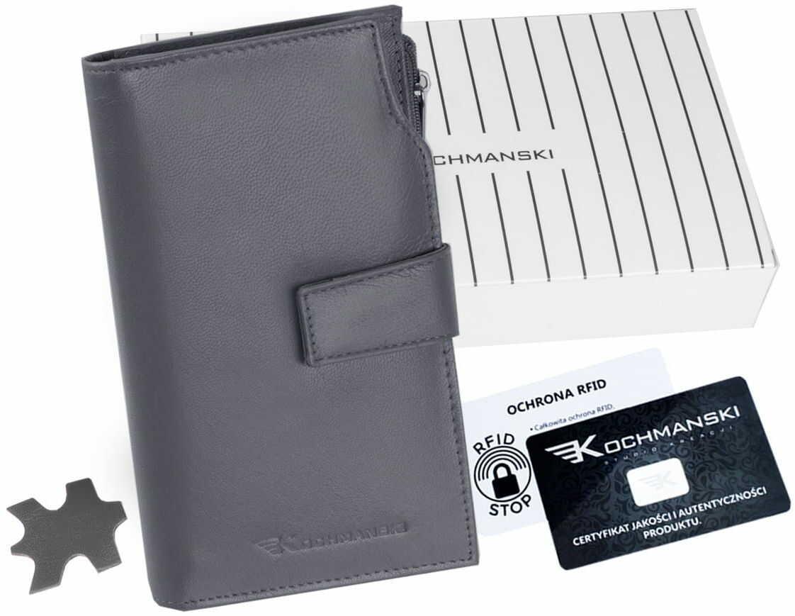 KOCHMANSKI portfel damski skórzany XXL 4367
